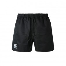 CANTERBURY PROFESSIONAL POLY SHORT BLACK