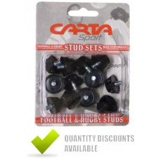 RUBBER FOOTBALL STUDS (BLISTER PACK OF 12)