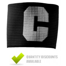 CAPTAINS ARMBANDS - BLACK