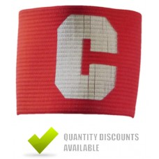 CAPTAINS ARMBANDS - RED