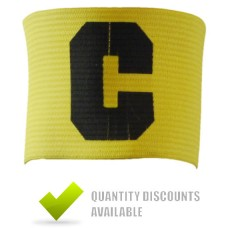 CAPTAINS ARMBANDS - YELLOW