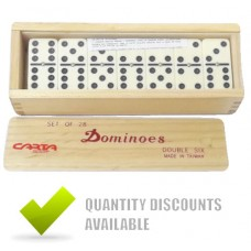 CLUB DOMINOES 6 X 6