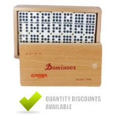 CLUB DOMINOES 9 X 9