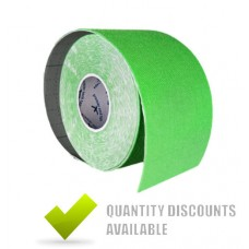 KINETIC TAPE LIME GREEN 5cm x 5m