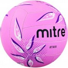 B1203 ATTACK NETBALL PINK SIZE 5