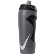 NIKE WATER BOTTLE HYPERFUEL 18oz-ANTHRACITE/WHITE