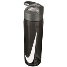 NIKE WATER BOTTLE HYPERCHARGE STRAW 24oz-ANTHRACITE/WHITE