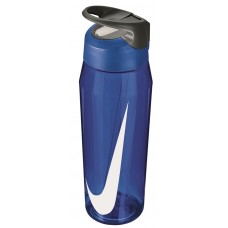 NIKE WATER BOTTLE HYPERCHARGE STRAW 32oz-BLUE/WHITE
