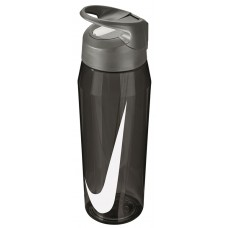 NIKE WATER BOTTLE HYPERCHARGE STRAW 32oz-ANTHRACITE/WHITE