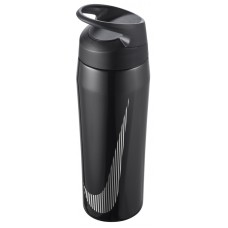 2020 NIKE BOTTLE S/STEEL HYPERCHARGE STRAW 24oz-BLK/ANTH