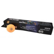 TABLE TENNIS BALLS LION 1* ORANGE
