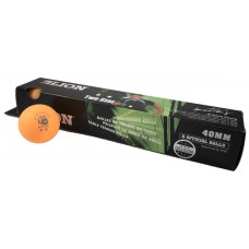 TABLE TENNIS BALLS LION 3* ORANGE
