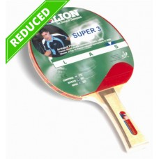 TABLE TENNIS BAT LION SUPER 3 ALLROUNDER